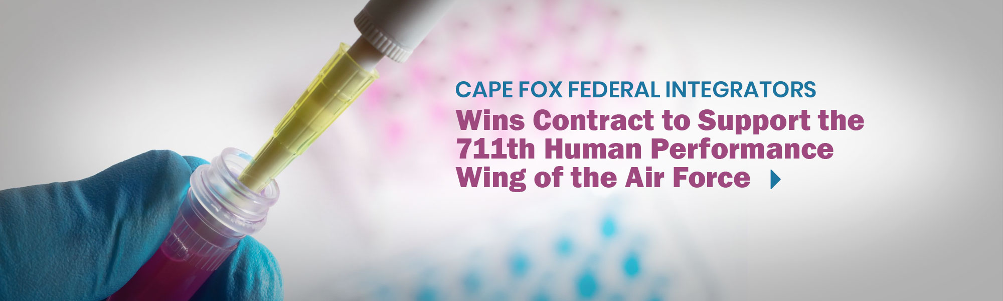 CFFI Wins Contract to Support the 711th Human Performance Wing of the Air Force