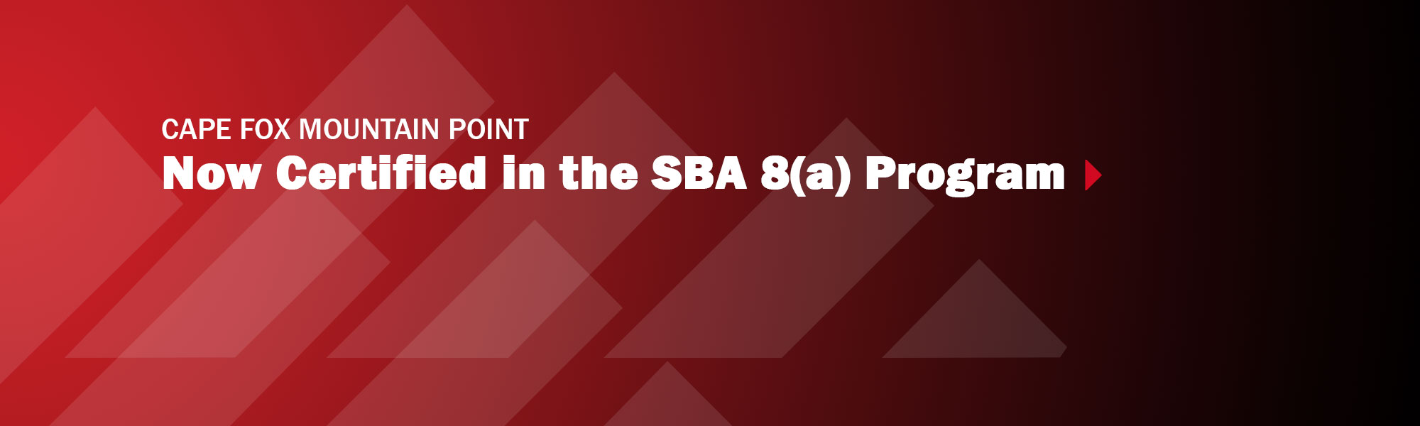 Mountain Point Now Certified in the SBA 8(a) Program
