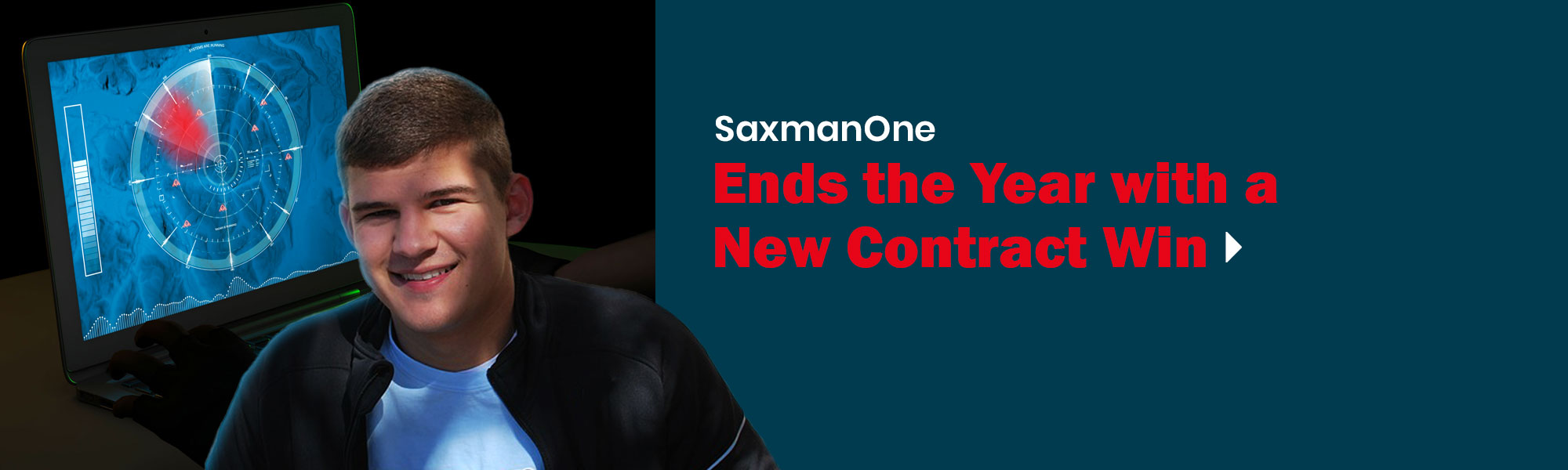 SaxmanOne Ends the Year with a New Contract Win